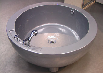 Apaļa vanna Spa Plus I Silver  Simple 1500x1500x650mm